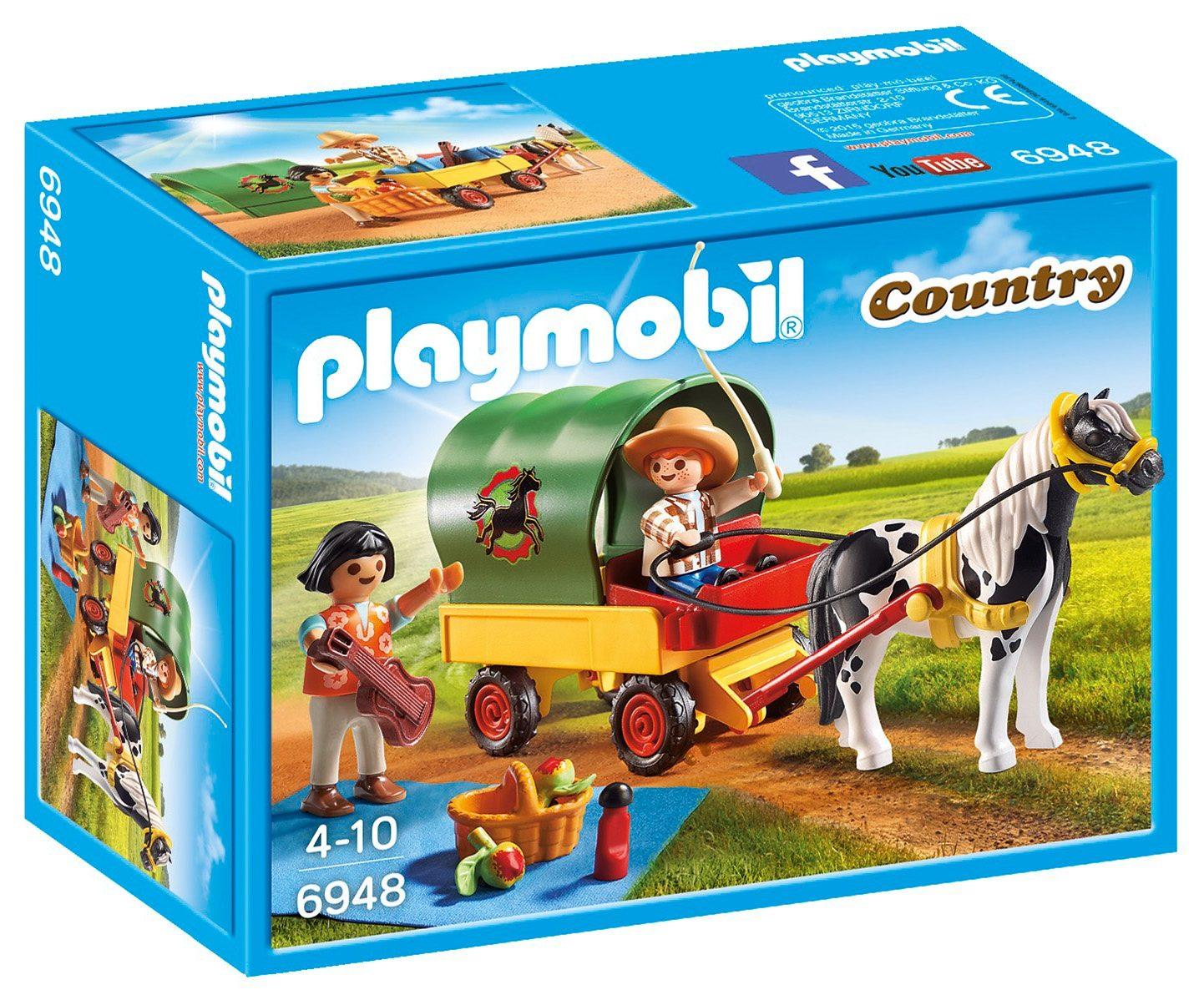 Playmobil® Ausflug mit Ponywagen (6948), »Country«
