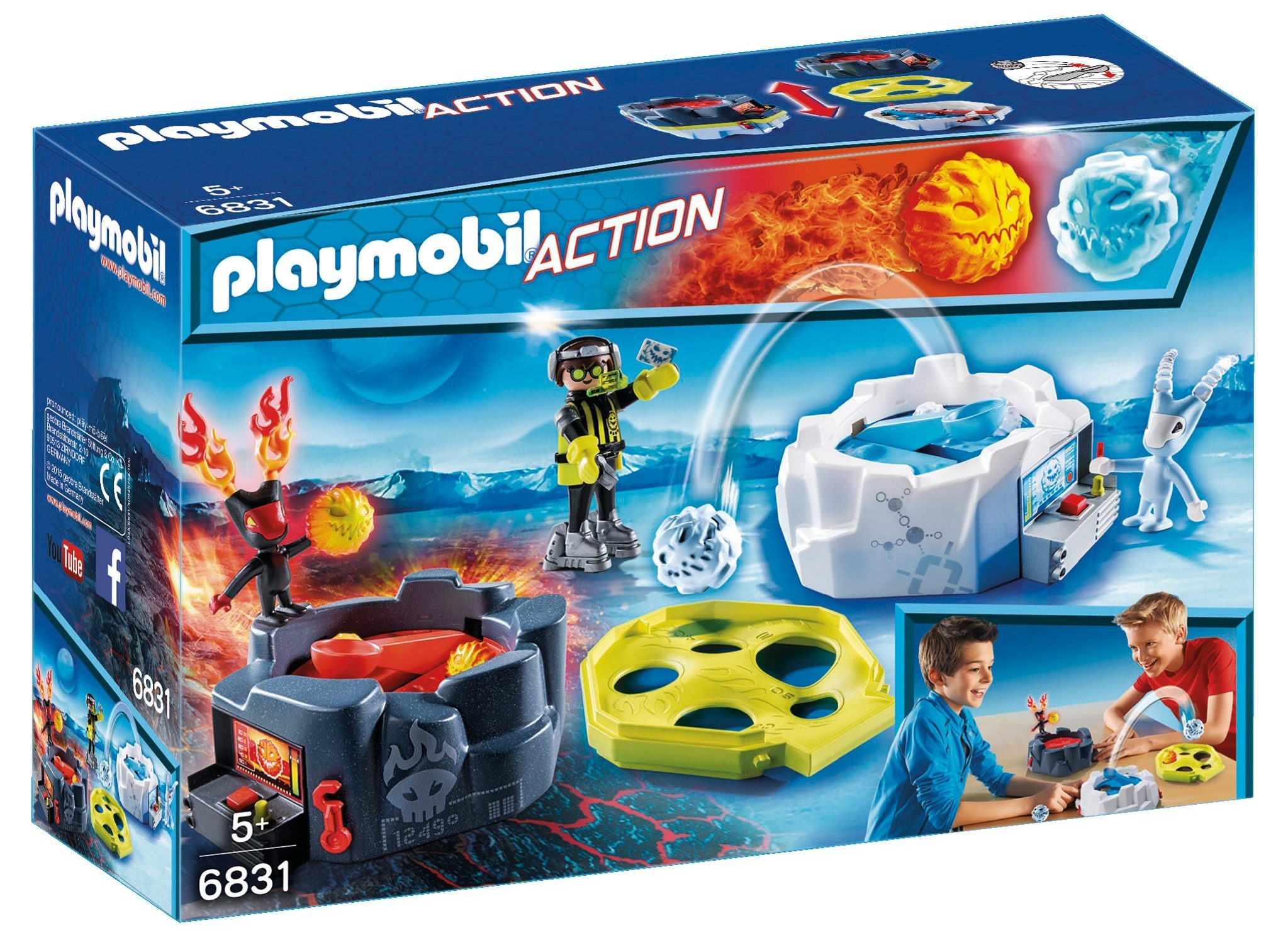 Playmobil® Fire & Ice Action Game (6831), Action