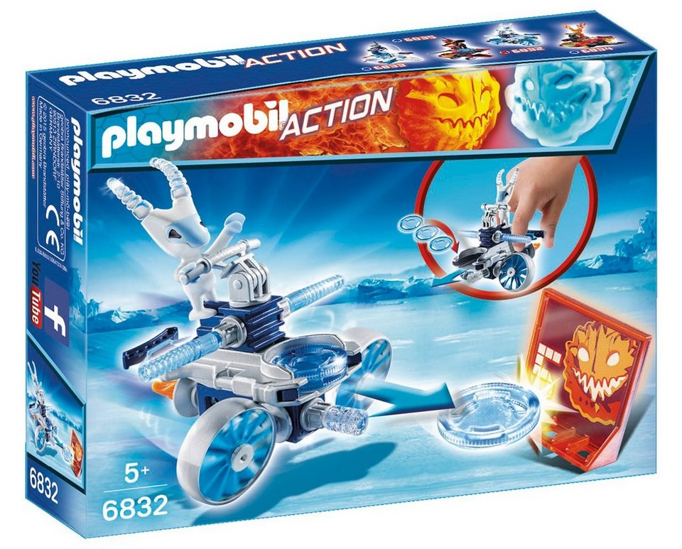 Playmobil® Frosty mit Disc-Shooter (6832), Action
