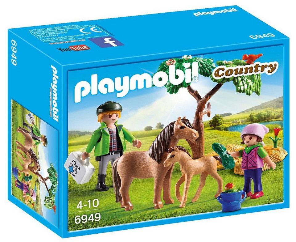 Playmobil® Ponymama mit Fohlen (6949), »Country«