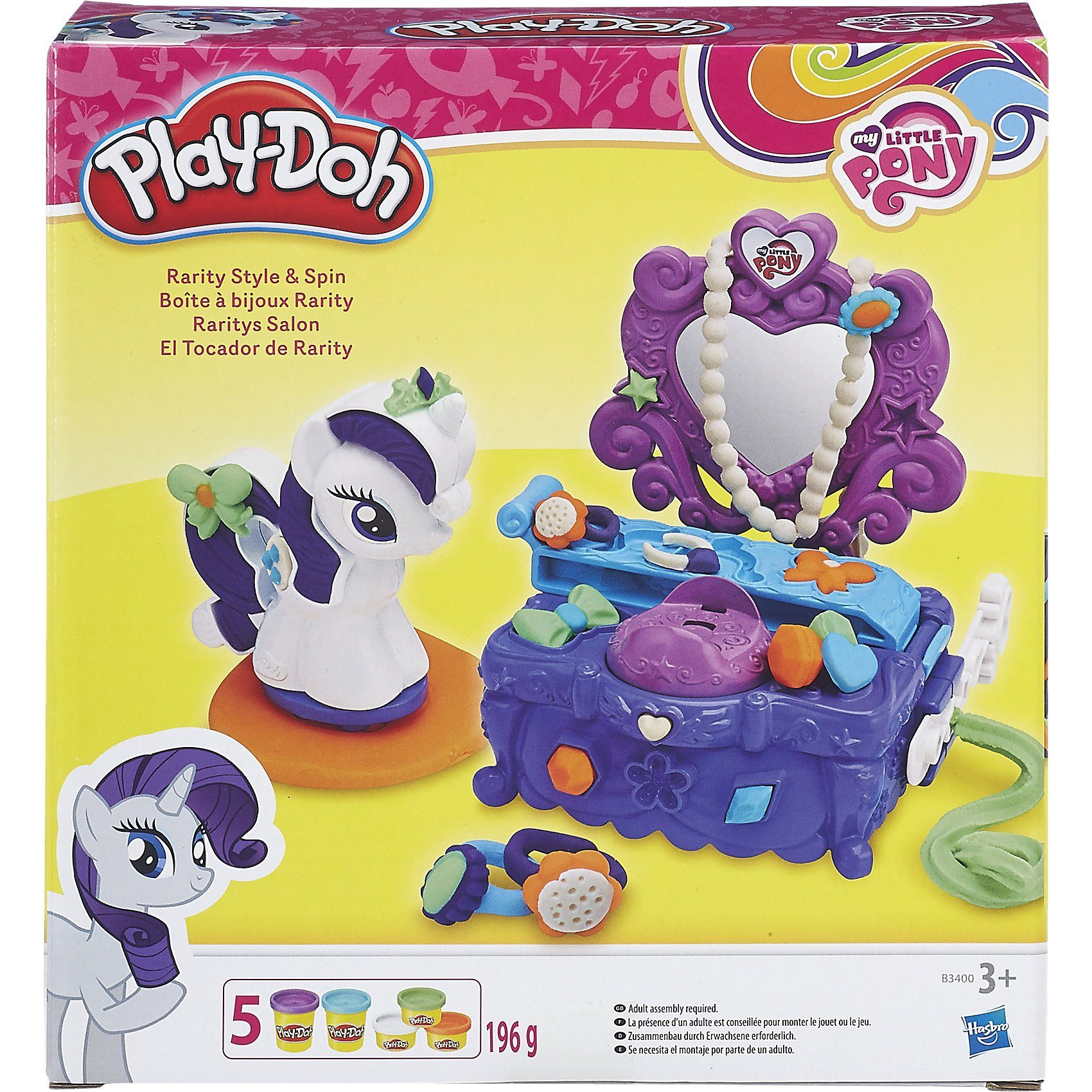 Hasbro Play-Doh My Little Pony Raritys Modesalon