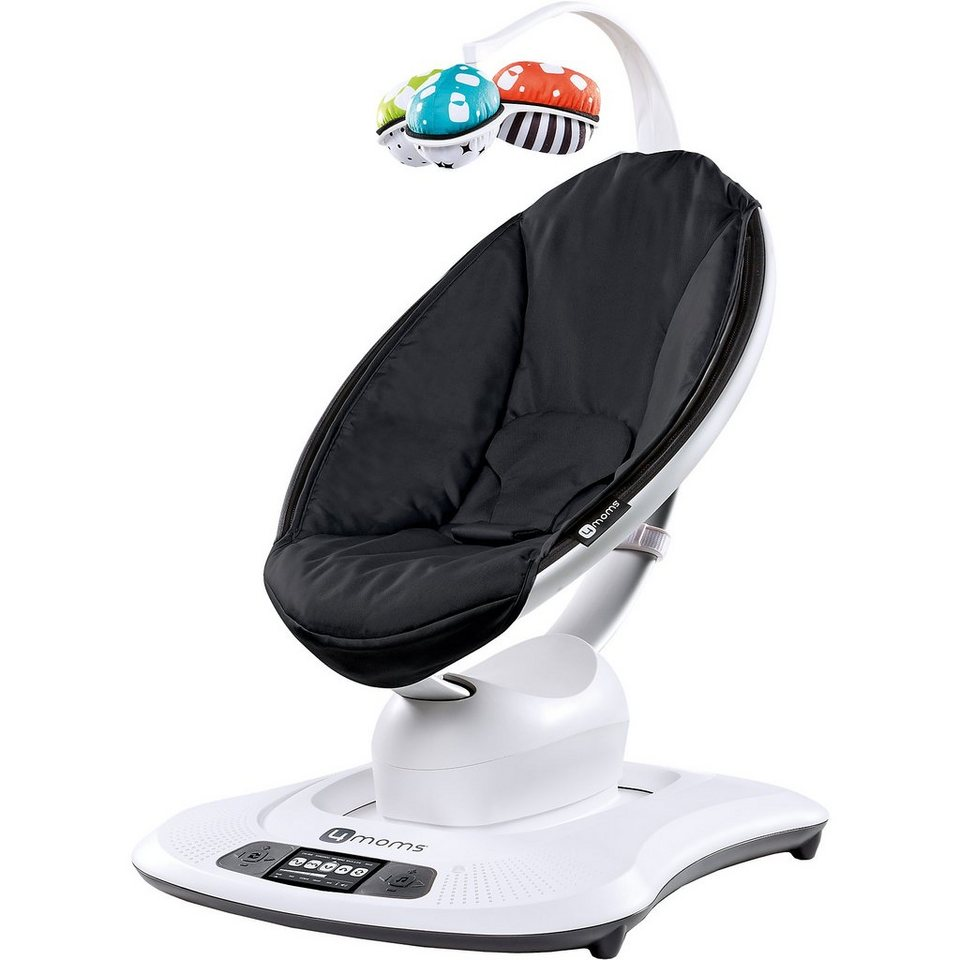 4moms Wippe mamaRoo, 3D, Classic Black in schwarz