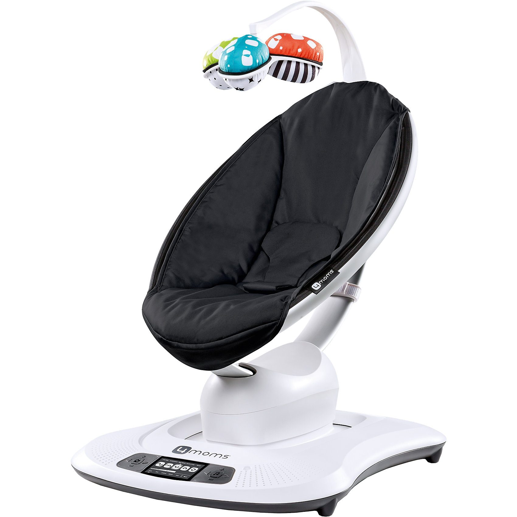 4moms Wippe mamaRoo, 3D, Classic Black