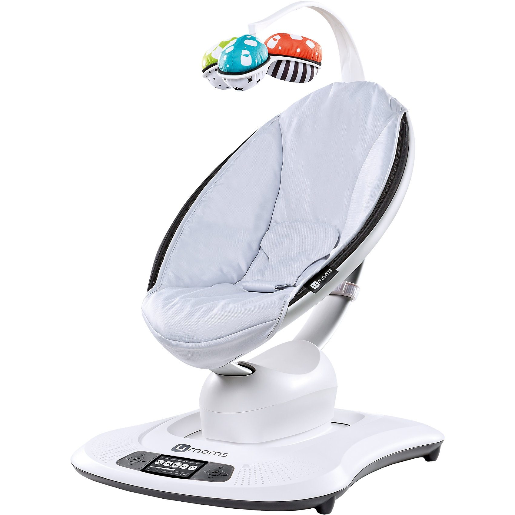 4moms Wippe mamaRoo, 3D, Classic Grey