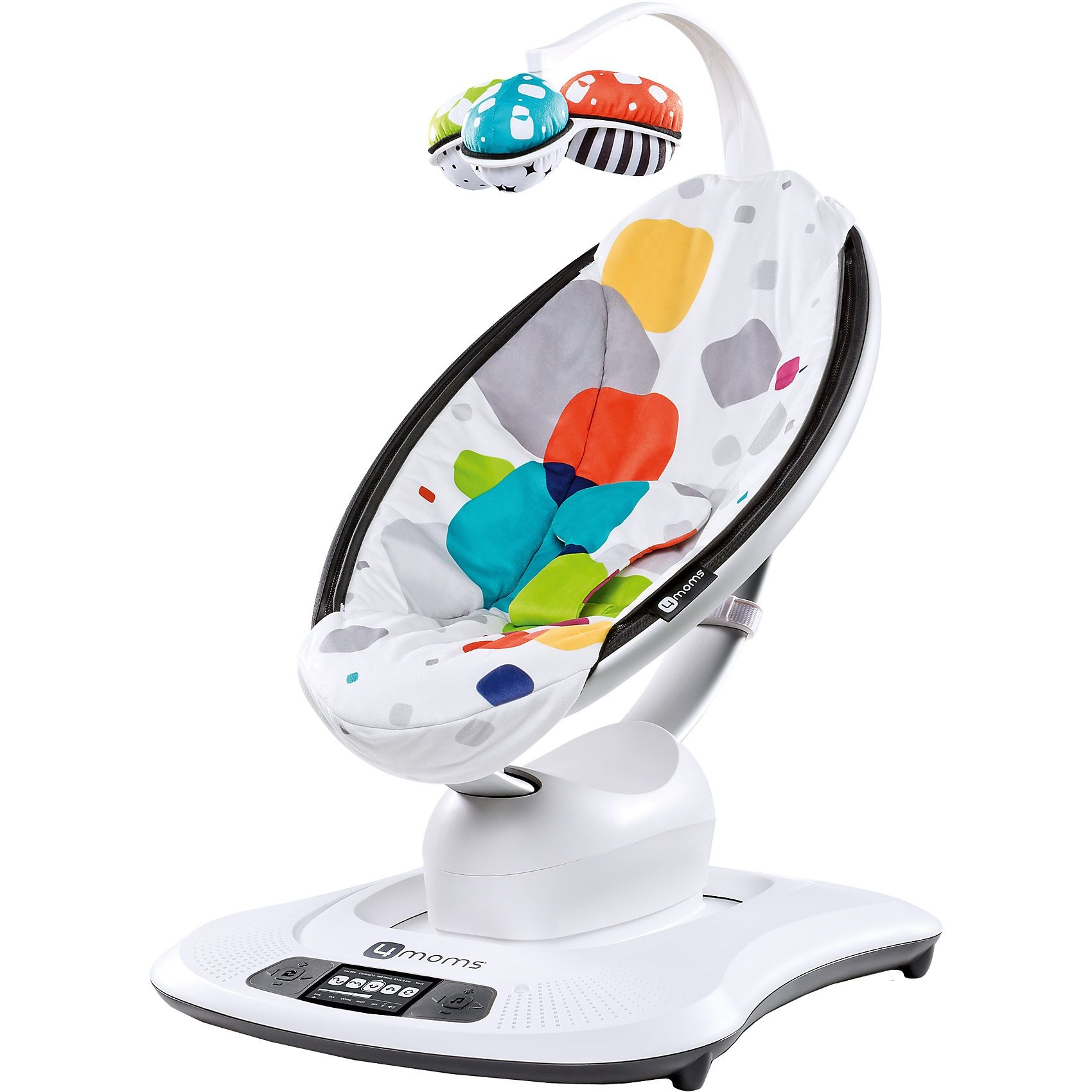 4moms Wippe mamaRoo, 3D, Multi Plush