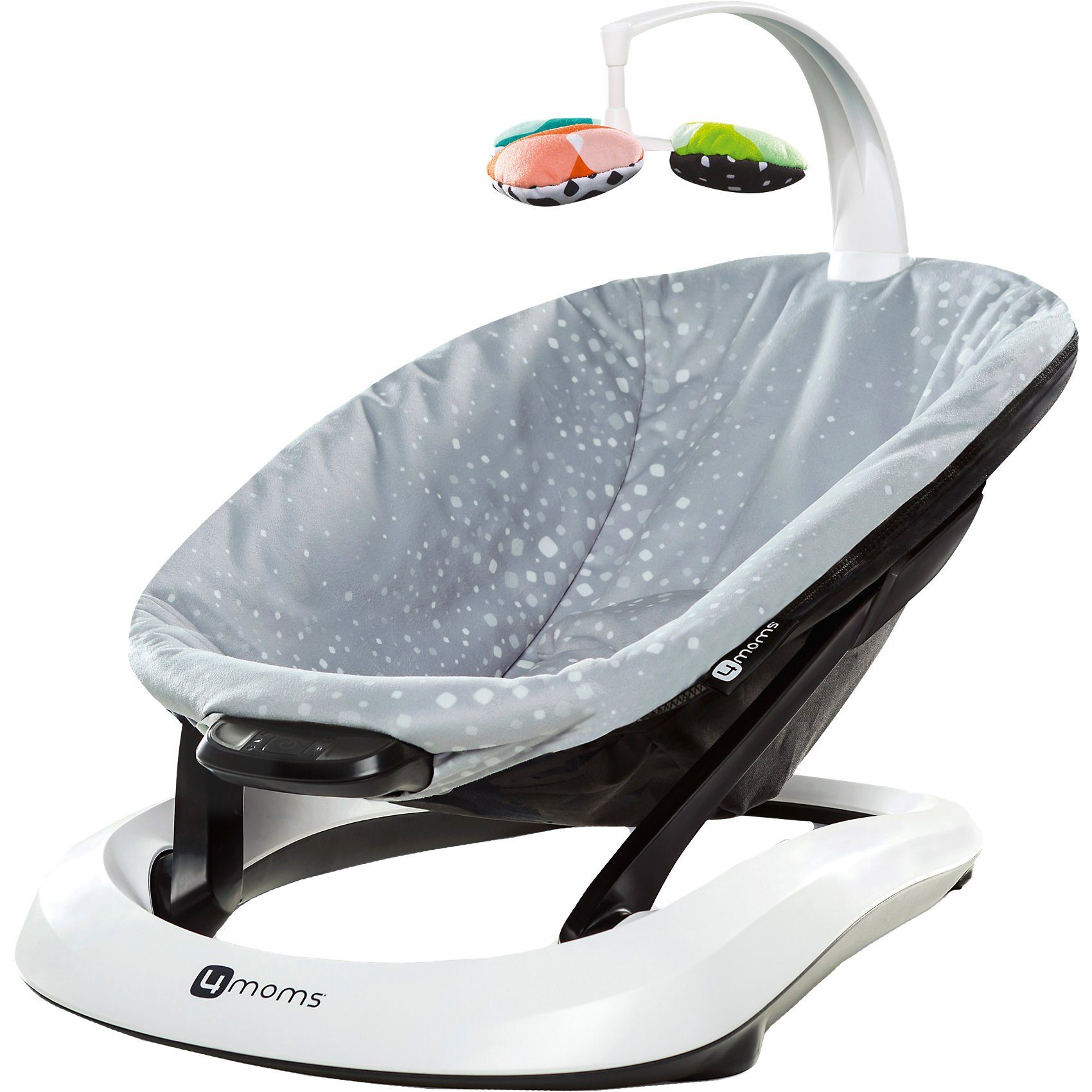 4moms Babyschaukel bounceRoo, Silver Plush