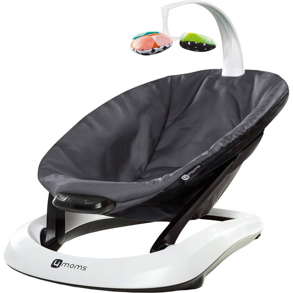 4moms Babyschaukel bounceRoo, Dark Grey in dunkelgrau