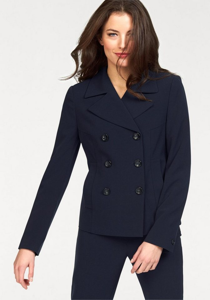 Vivance Blazer in dunkelblau
