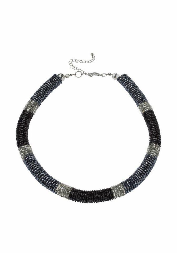 J. Jayz Kette »opulente Optik« in schwarz-blau