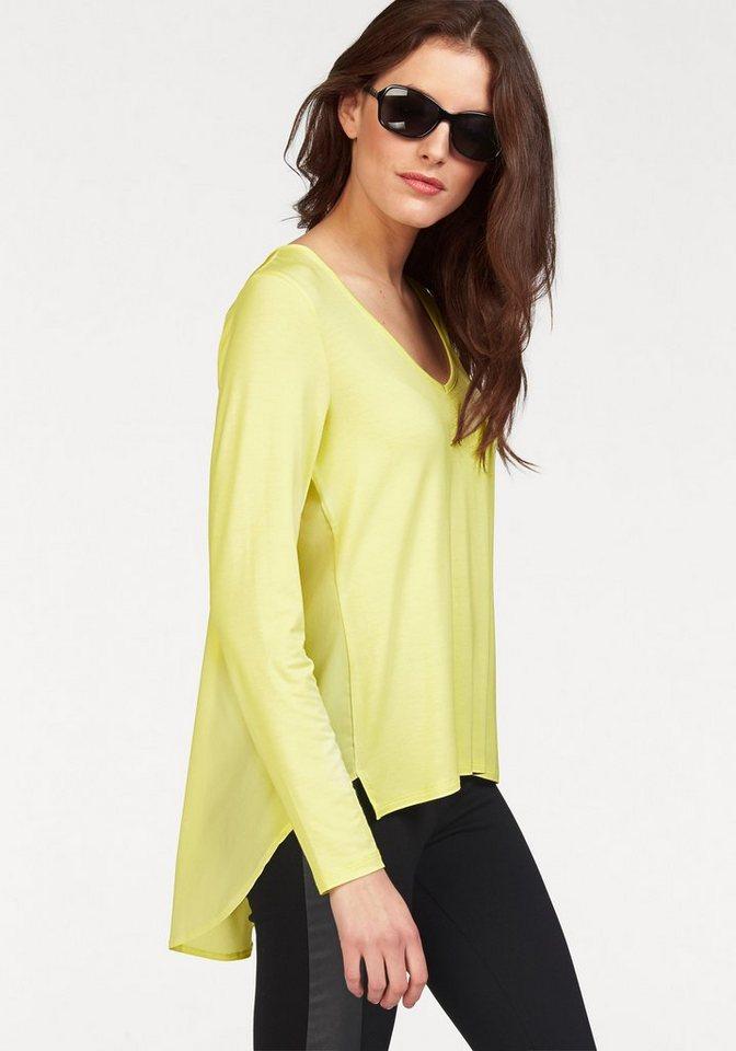 Vivance Langarmshirt in gelb