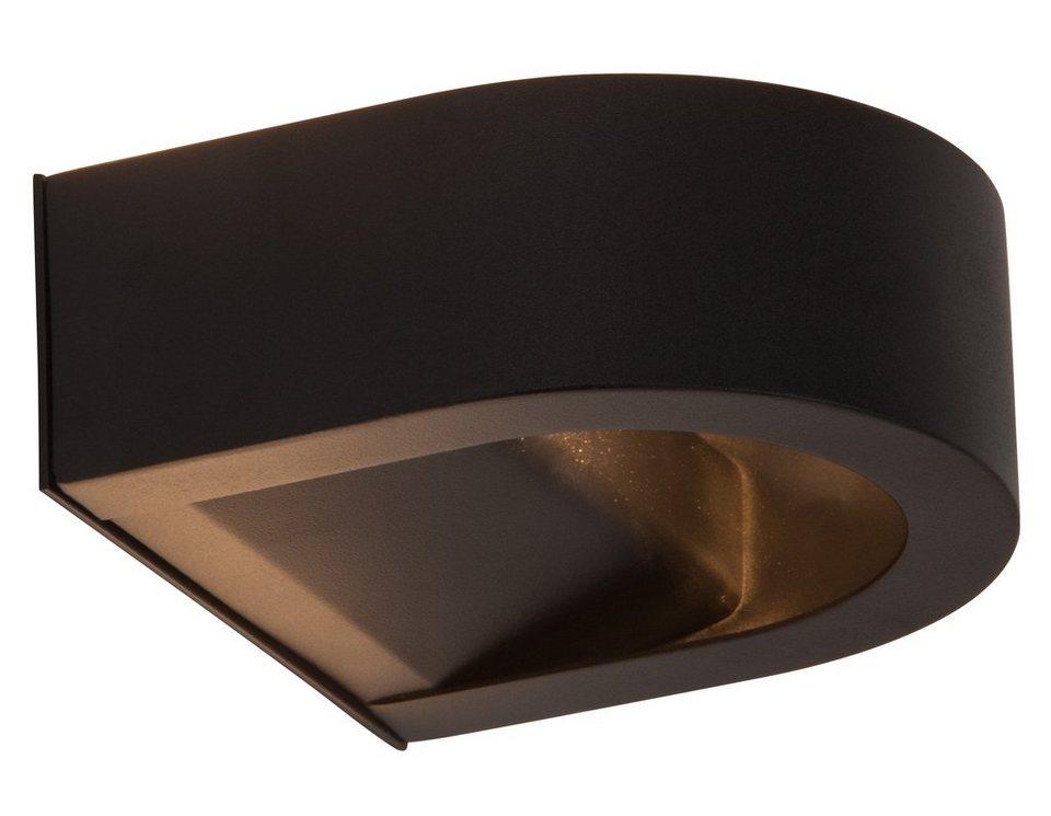 Brilliant Leuchten LED Außenleuchte, Wandleuchte, 1flg., »ARCO« in Aluminium, schwarz