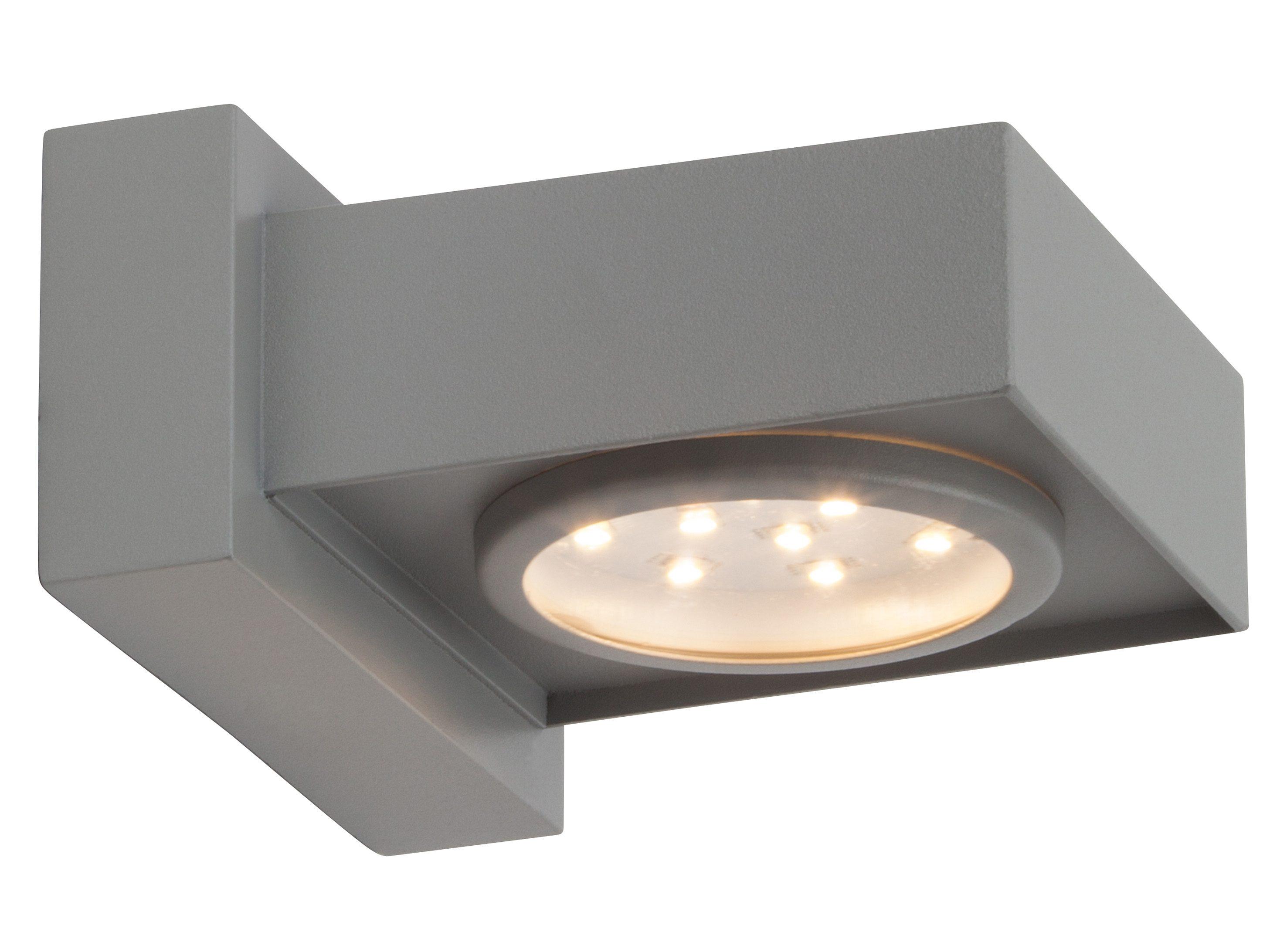 Brilliant Leuchten LED Außen-Wandleuchte »WARREN«, 1-flammig