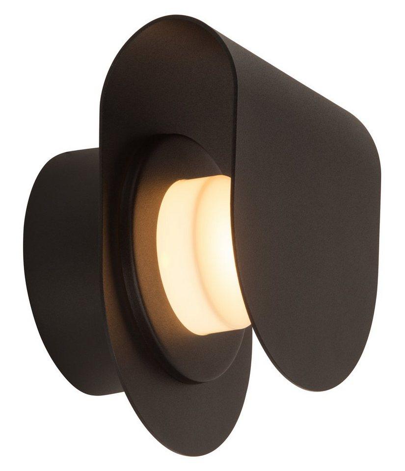 Brilliant Leuchten LED Außenleuchte, Wandleuchte, 1flg., »ARCHEA« in Metall, schwarz