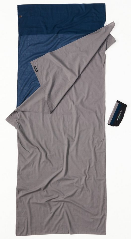 Cocoon Schlafsack »TravelSheet Inlet Cotton« in grau