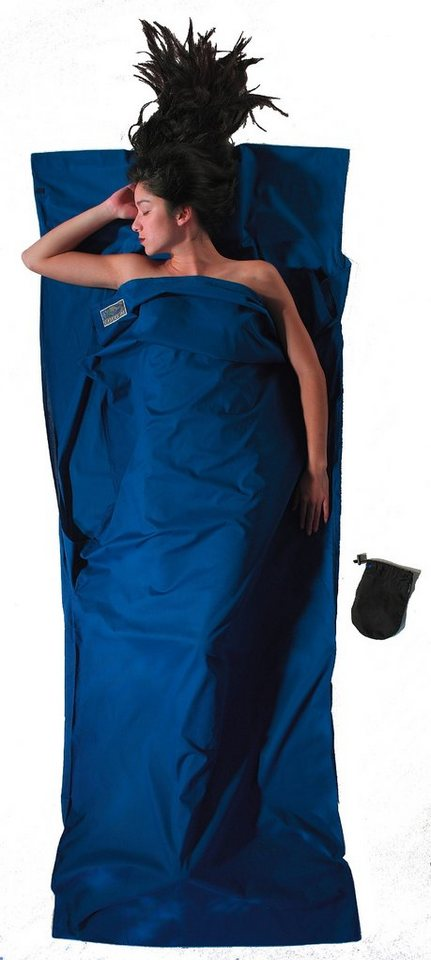 Cocoon Schlafsack »TravelSheet Cotton« in blau