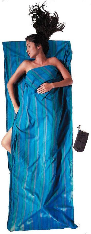 Cocoon Schlafsack »TravelSheet Inlet Cotton« in blau