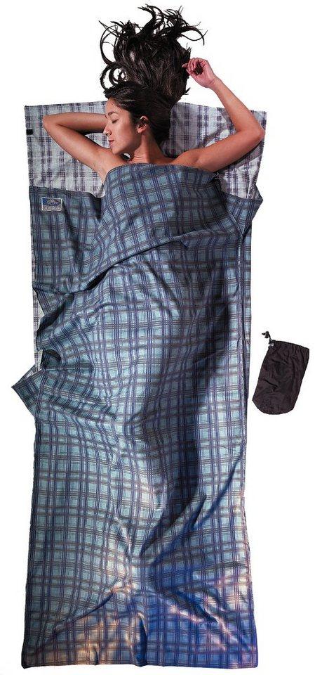 Cocoon Schlafsack »TravelSheet Inlet Cotton Flannel« in blau