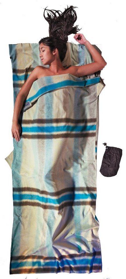 Cocoon Schlafsack »TravelSheet Inlet Cotton Flannel« in beige