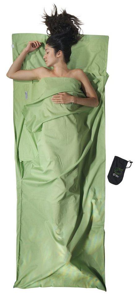 Cocoon Schlafsack »TravelSheet Inlet Organic Cotton« in grün