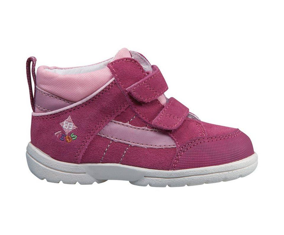 Brütting Lauflernschuh aus Veloursleder »SPOOKY V« in pink/rosa