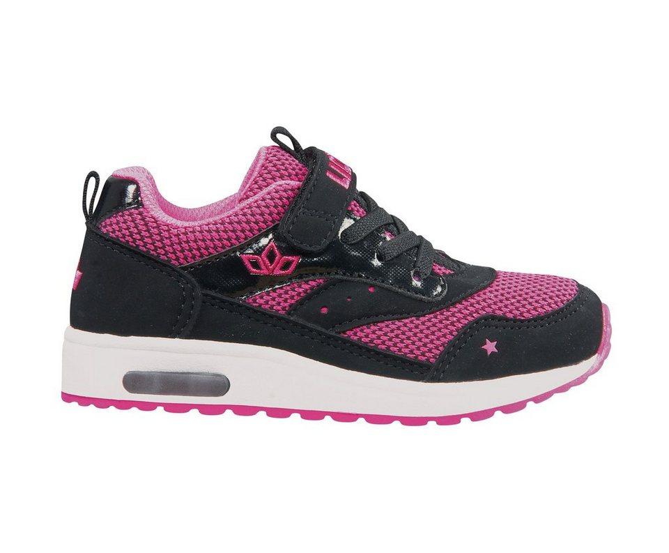 LICO leichter Sneaker »COOL VS« in pink/schwarz