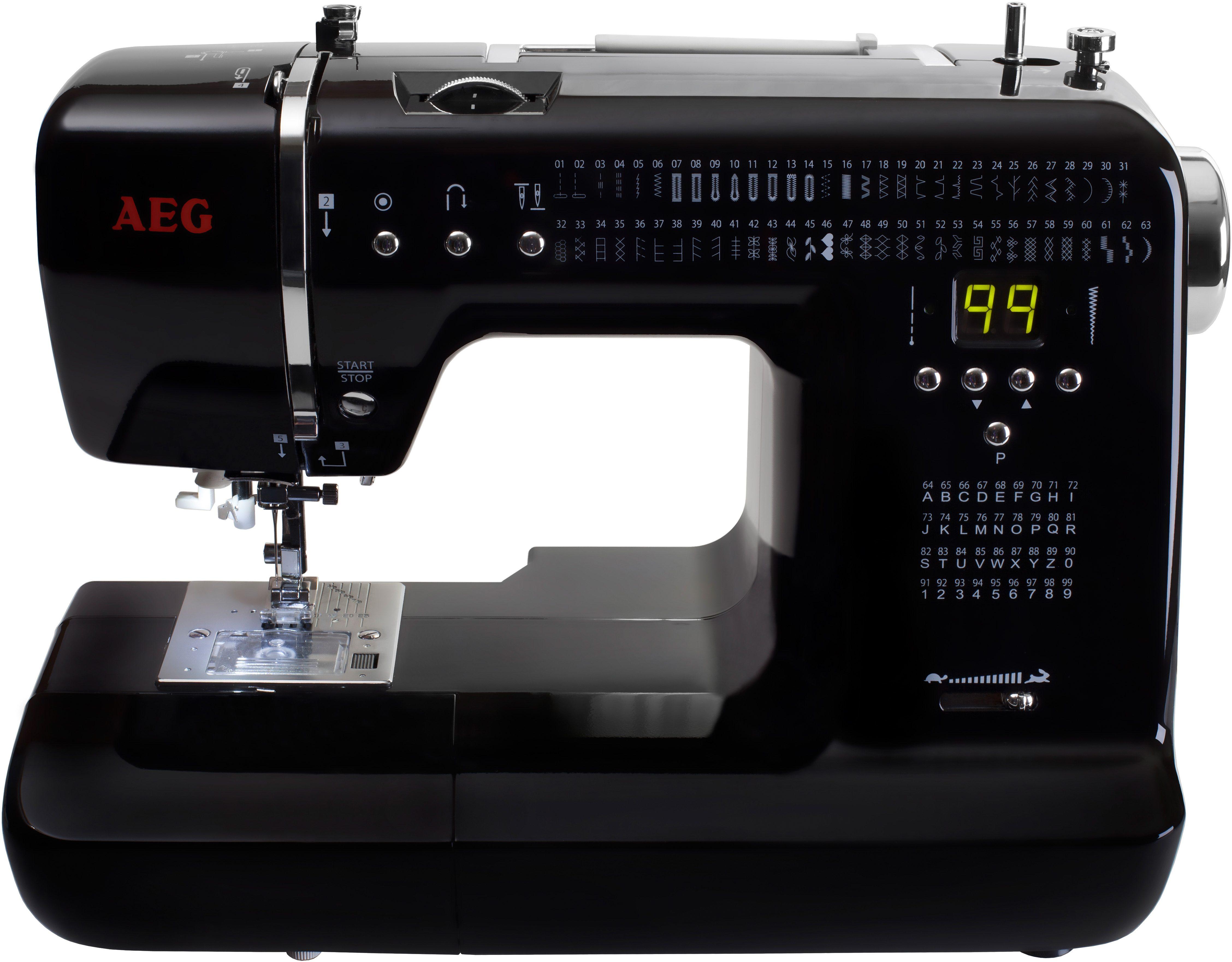 AEG Nähmaschine 300, 99 Programme, mit Zubehör