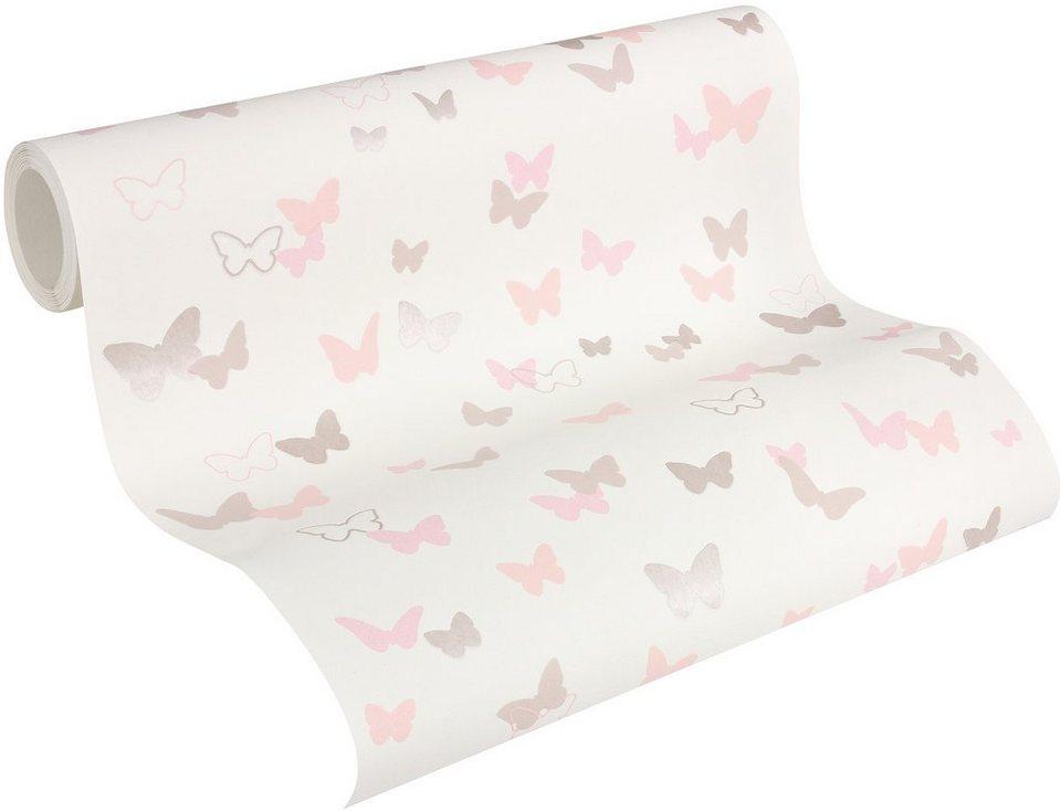 Esprit Tapeten Kinderzimmer   Vliestapete Living Walls Kids 4 Sweet Butterfly