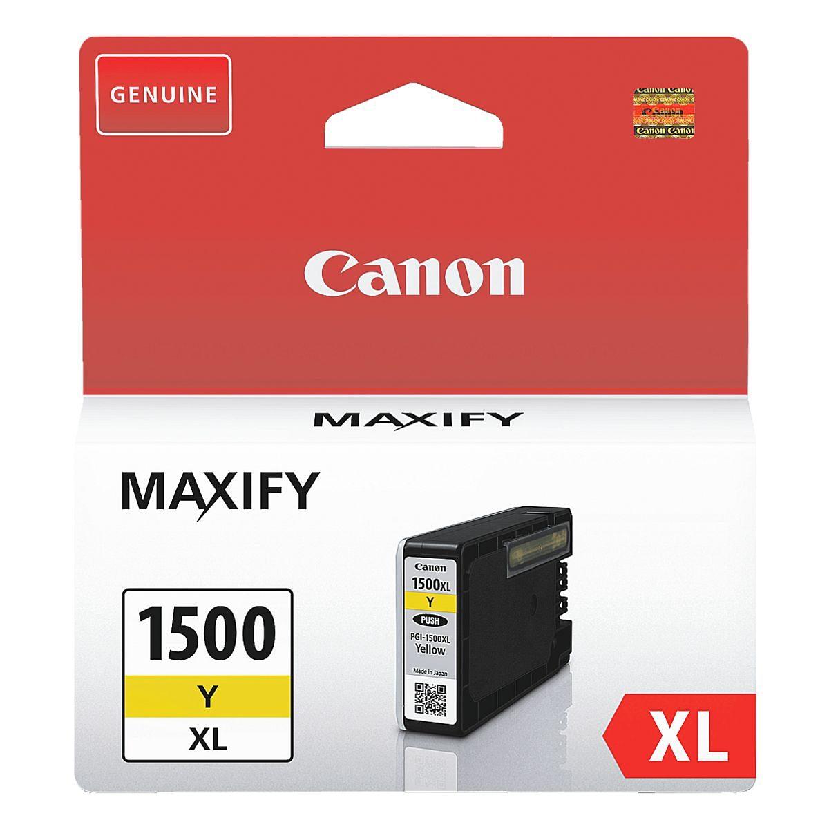 Canon Tintenpatrone »PGI-1500XL Y«