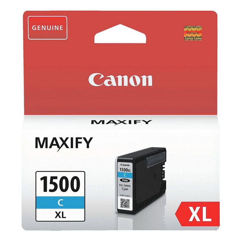 Canon Tintenpatrone »PGI-1500XL C«