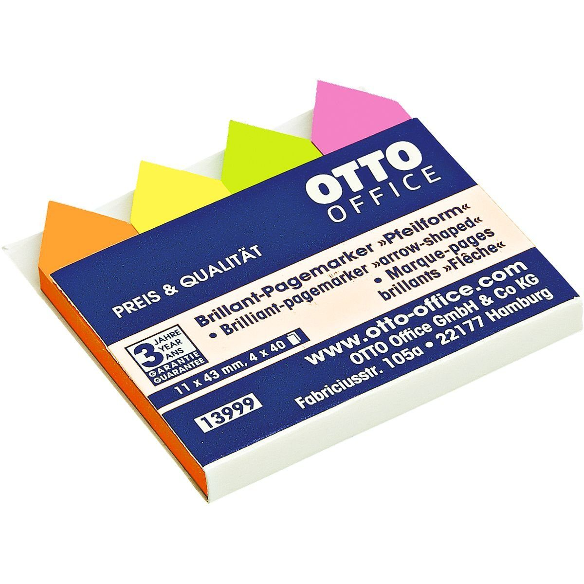 OTTO Office Standard Pagemarker 43 x 11 mm »Pfeil«