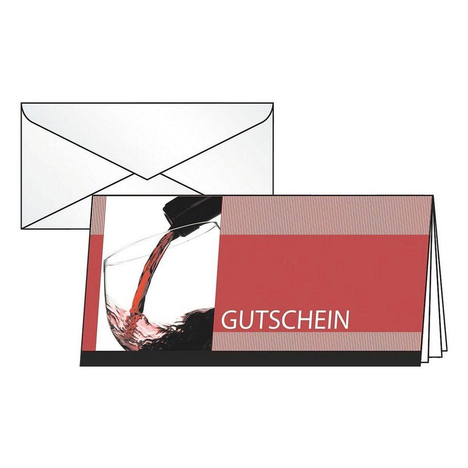 Sigel Gutschein-Karten »Vino Rosso«