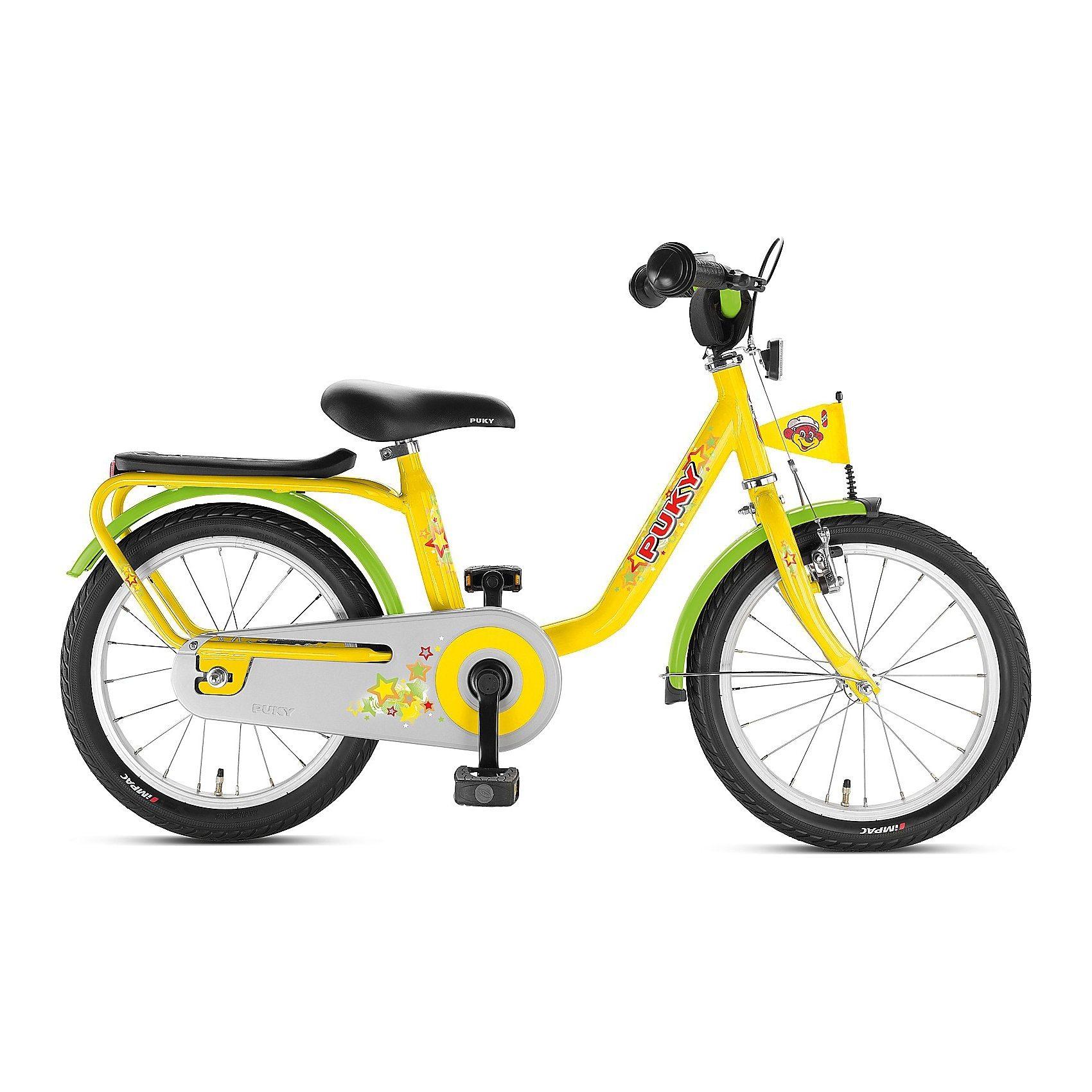 PUKY Fahrrad Z 6, 16 Zoll, gelb
