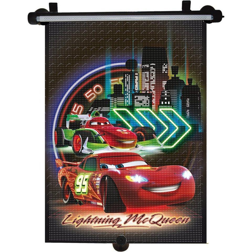Kaufmann Sonnenrollo, Cars Neon in mehrfarbig