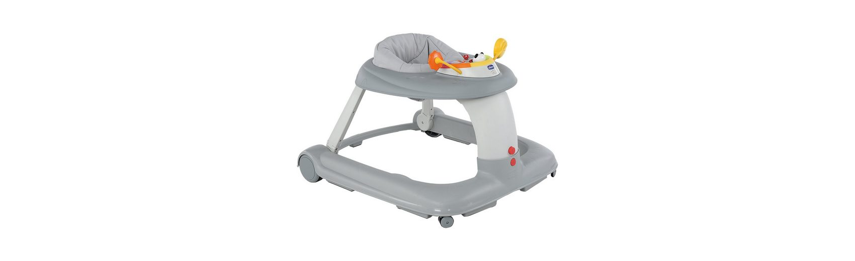 CHICCO Lauflernhilfe Activity-Center 123, silver
