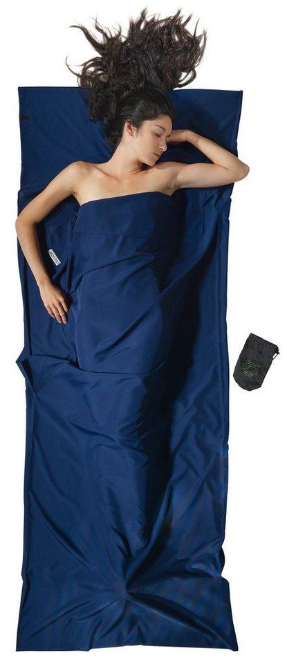Cocoon Schlafsack »TravelSheet Inlet Microfiber« in blau