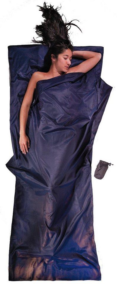 Cocoon Schlafsack »TravelSheet Inlet Silk Cotton« in blau