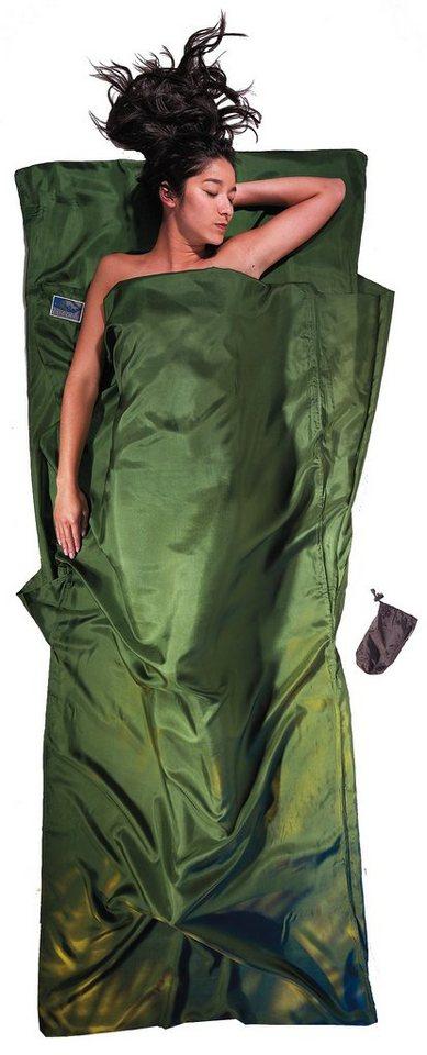 Cocoon Schlafsack »TravelSheet Inlet Silk« in oliv