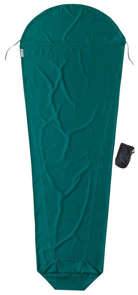 Cocoon Schlafsack »MummyLiner Inlet Microfiber« in grün