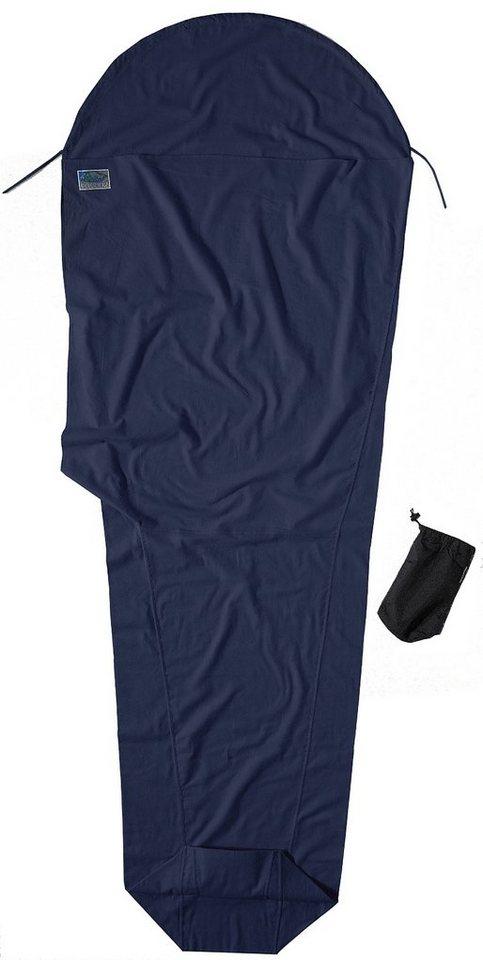 Cocoon Schlafsack »MummyLiner Inlet Cotton Flannel« in blau