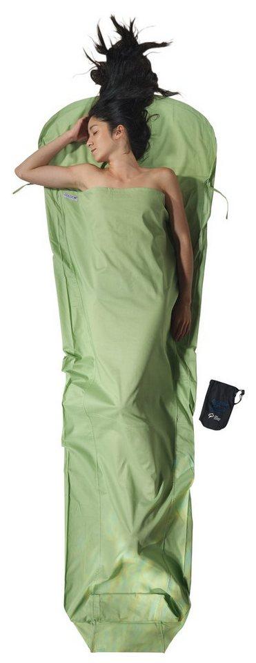 Cocoon Schlafsack »MummyLiner Inlet Organic Cotton« in grün