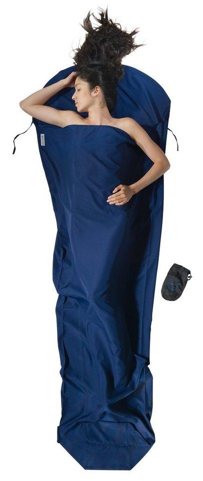 Cocoon Schlafsack »MummyLiner Inlet Microfiber« in blau