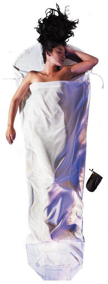 Cocoon Schlafsack »MummyLiner Inlet Silk« in weiß