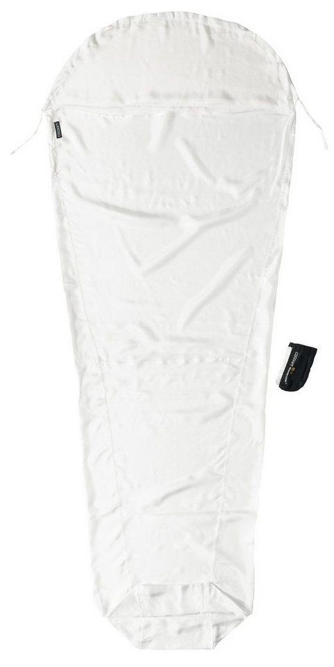 Cocoon Schlafsack »MummyLiner Inlet Silk Economy Line« in weiß