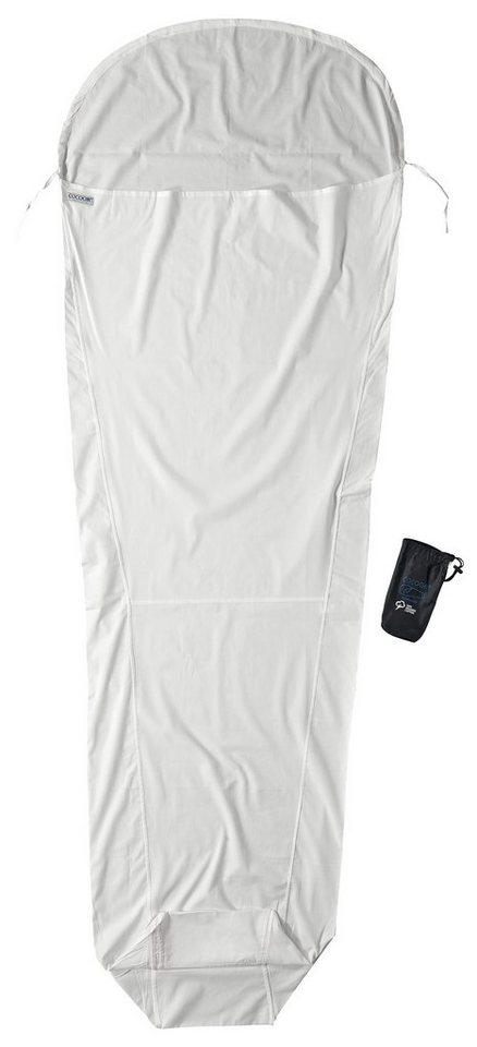 Cocoon Schlafsack »MummyLiner Inlet Organic Cotton« in weiß