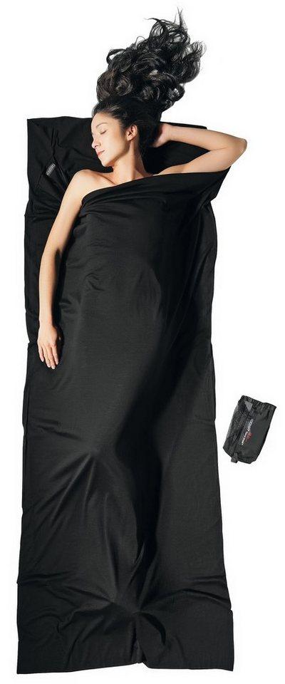 Cocoon Schlafsack »TravelSheet Inlet Merino Wool« in schwarz