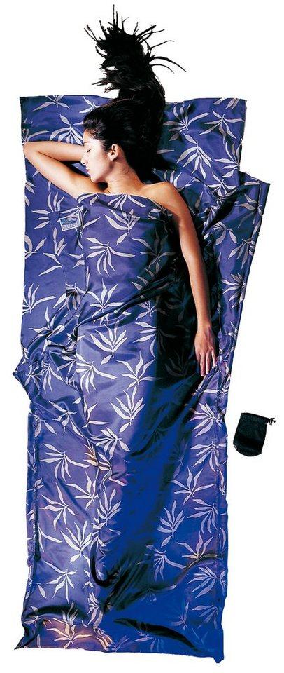Cocoon Schlafsack »TravelSheet Inlet Silk« in blau