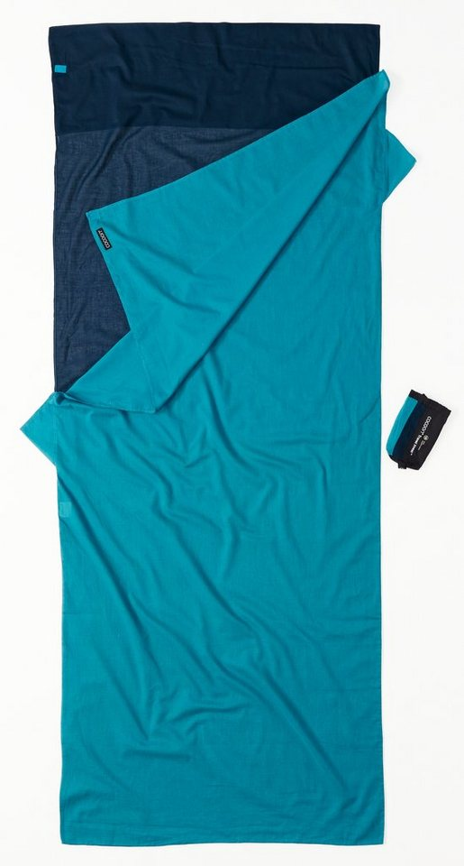 Cocoon Schlafsack »TravelSheet Inlet Egyptian Cotton« in blau