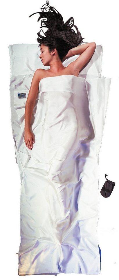 Cocoon Schlafsack »TravelSheet Inlet Silk« in weiß