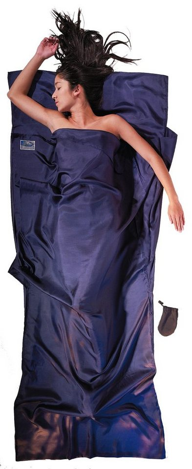 Cocoon Schlafsack »TravelSheet Inlet Ripstop Silk« in blau