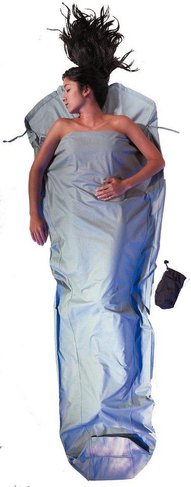 Cocoon Schlafsack »MummyLiner Inlet Cotton« in blau